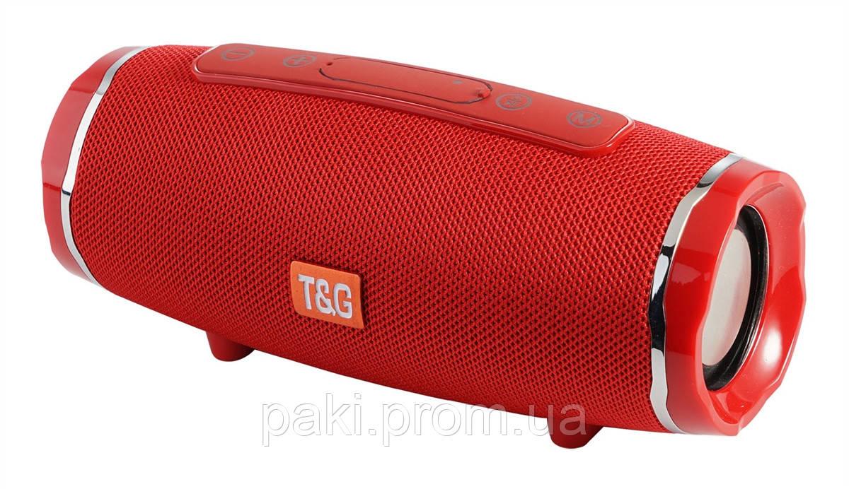 Портативная bluetooth колонка T&G TG-145 (Красная)