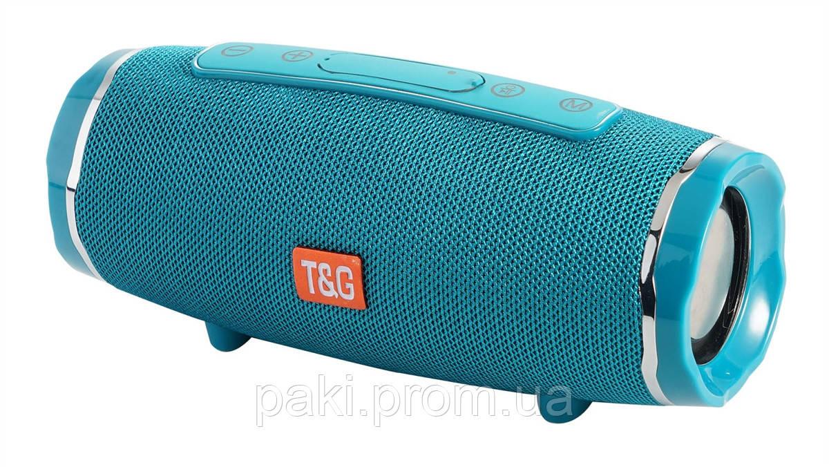 Портативная bluetooth колонка T&G TG-145 (Мятный)