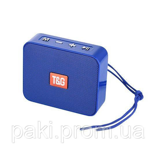 Портативная bluetooth колонка T&G TG-166 (Синий)