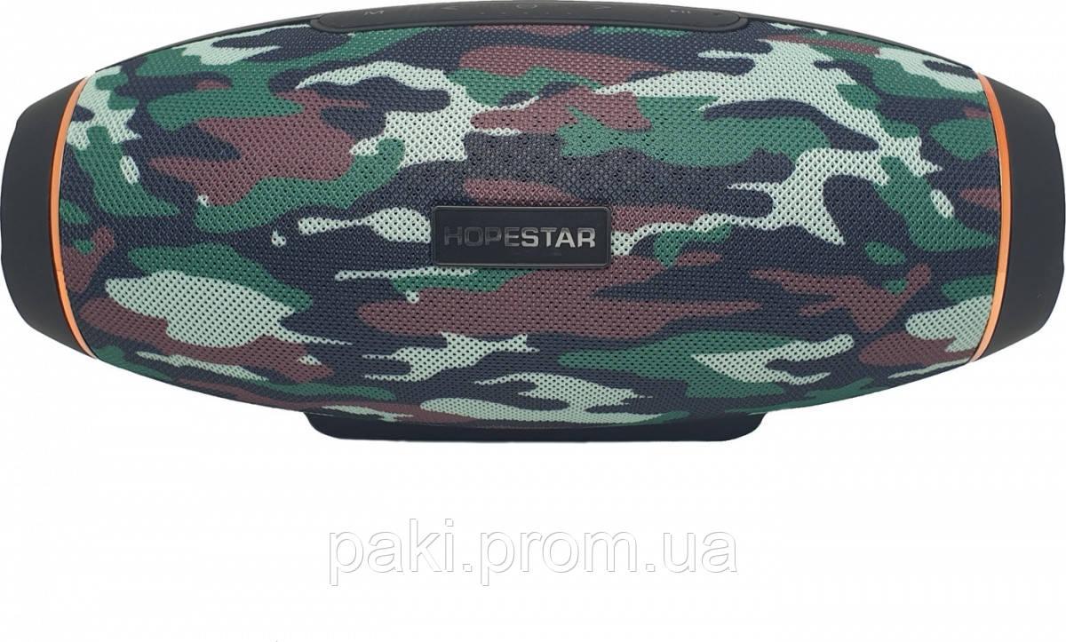 Портативная беспроводная Bluetooth колонка Hopestar H20 , Хаки