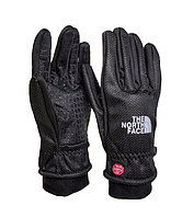 Перчатки TNF фирменные The North Face Winter Black зимние мужские сенсорные перчатки оригинал (Черный) L
