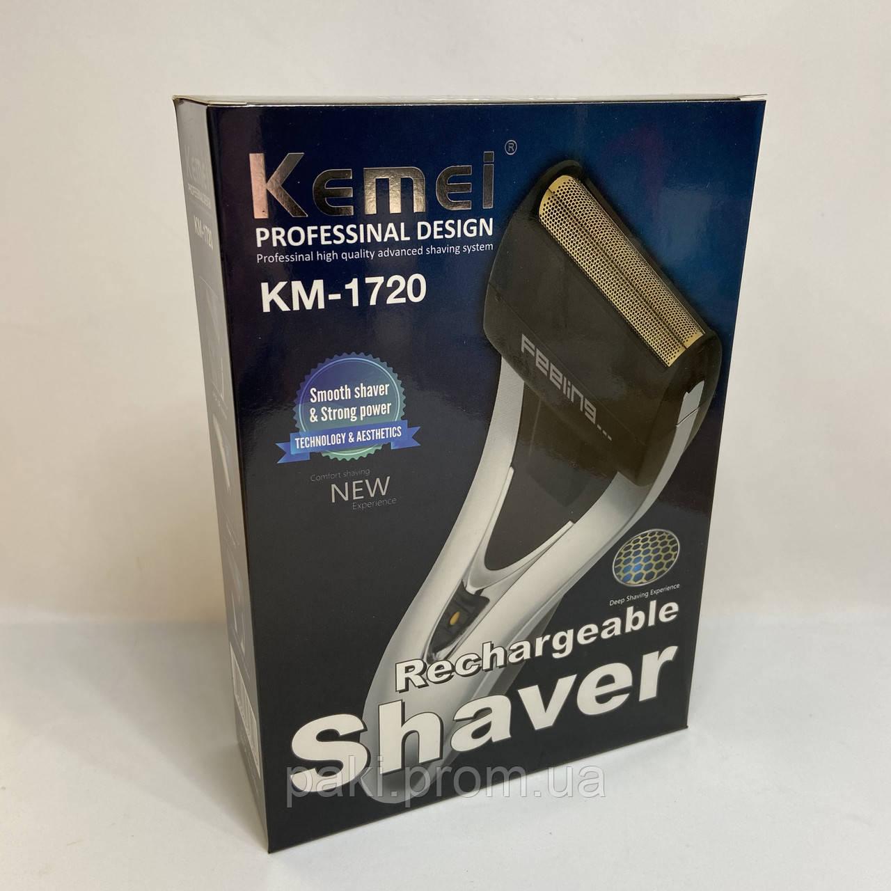 Сеточная электробритва Kemei KM-1720