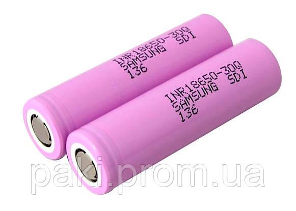 Аккумулятор Samsung 30Q 18650 3000mAh(реальная емкость)