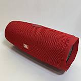 Новая Портативная bluetooth колонка в стиле JBL Сharge 4, Красная, фото 4