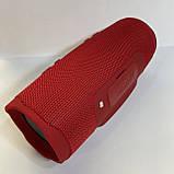 Новая Портативная bluetooth колонка в стиле JBL Сharge 4, Красная, фото 6