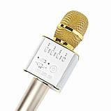Беспроводной микрофон-караоке bluetooth Q9(коробка), фото 2