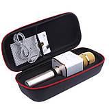 Беспроводной микрофон-караоке bluetooth Q9(коробка), фото 4