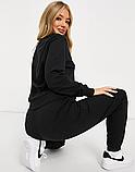 Женский спортивный костюм кенгуру серый, фото 4