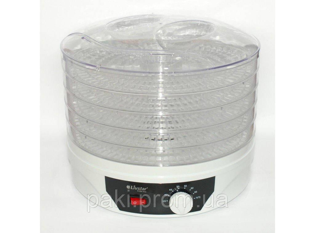 Электрическая сушилка для фруктов, овощей Livstar LSU-1425