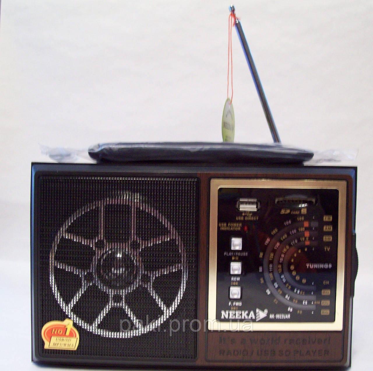 Радиоприемники USB/SD NEEKA NK-9922UAR