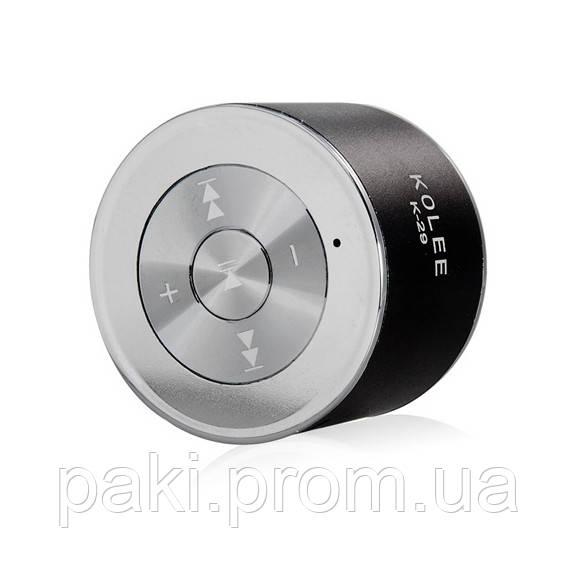 Портативная колонка K-29 FM, MP3, USB