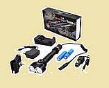 Тактический фонарь Police 12V BL-Q2822- 30000W T6, фото 2