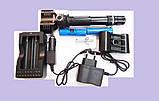 Тактический фонарь Police 12V BL-Q2822- 30000W T6, фото 3
