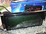 Часы сетевые VST-730 LED (зеленые), фото 2