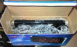 Часы сетевые VST-730 LED (зеленые), фото 6
