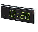 Часы сетевые VST-730 LED (зеленые), фото 8