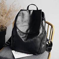 Женский черный рюкзак, городской рюкзак тренд 2021 СС-4612-10