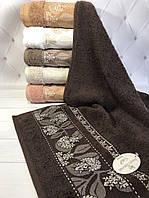 Полотенца банные, лицевые хлопковые Sweat Dreams Karanfil yapragi Полотенца 70х140 см., 6 шт. махра