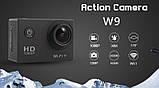 Экшн камера Sports Cam W9 с Wi-Fi. FullHD, фото 2