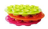 Силиконовая подставка для посуды с присосками, фото 5