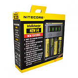 Зарядное устройство Nitecore Sysmax Intellicharger i4 v2 NEW, фото 2