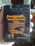 Аккумулятор Energycell RB640CS 6V 4Ah (A) клеммы, фото 2