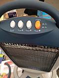 Тепловентилятор (обогреватель) инфракрасный галогенный Domotec DT-1606 1200W, фото 3