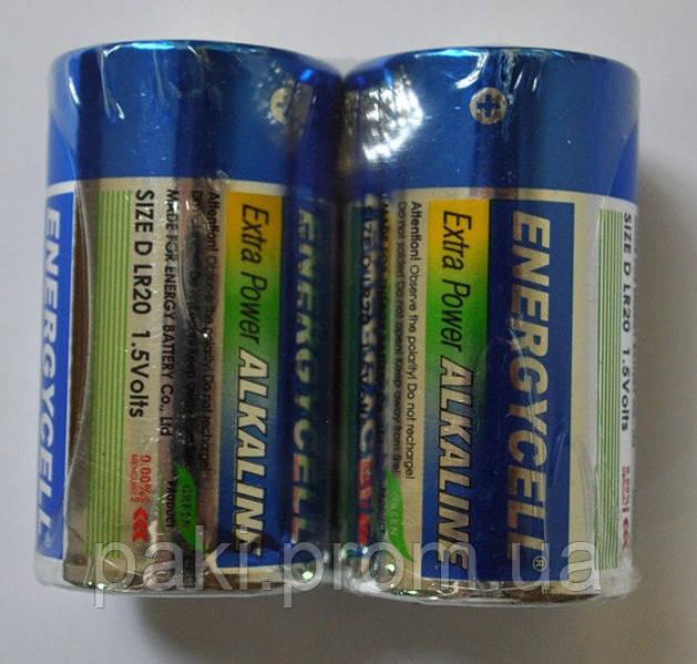 Батарейки Energycell LR20 (D) ALKALINE