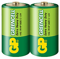 Батарейка GP 14G-S2 Greencell R14 C