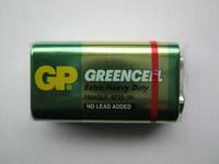 Батарейки GP 1604G-S1 Greencell 6F22 (Крона 9V)