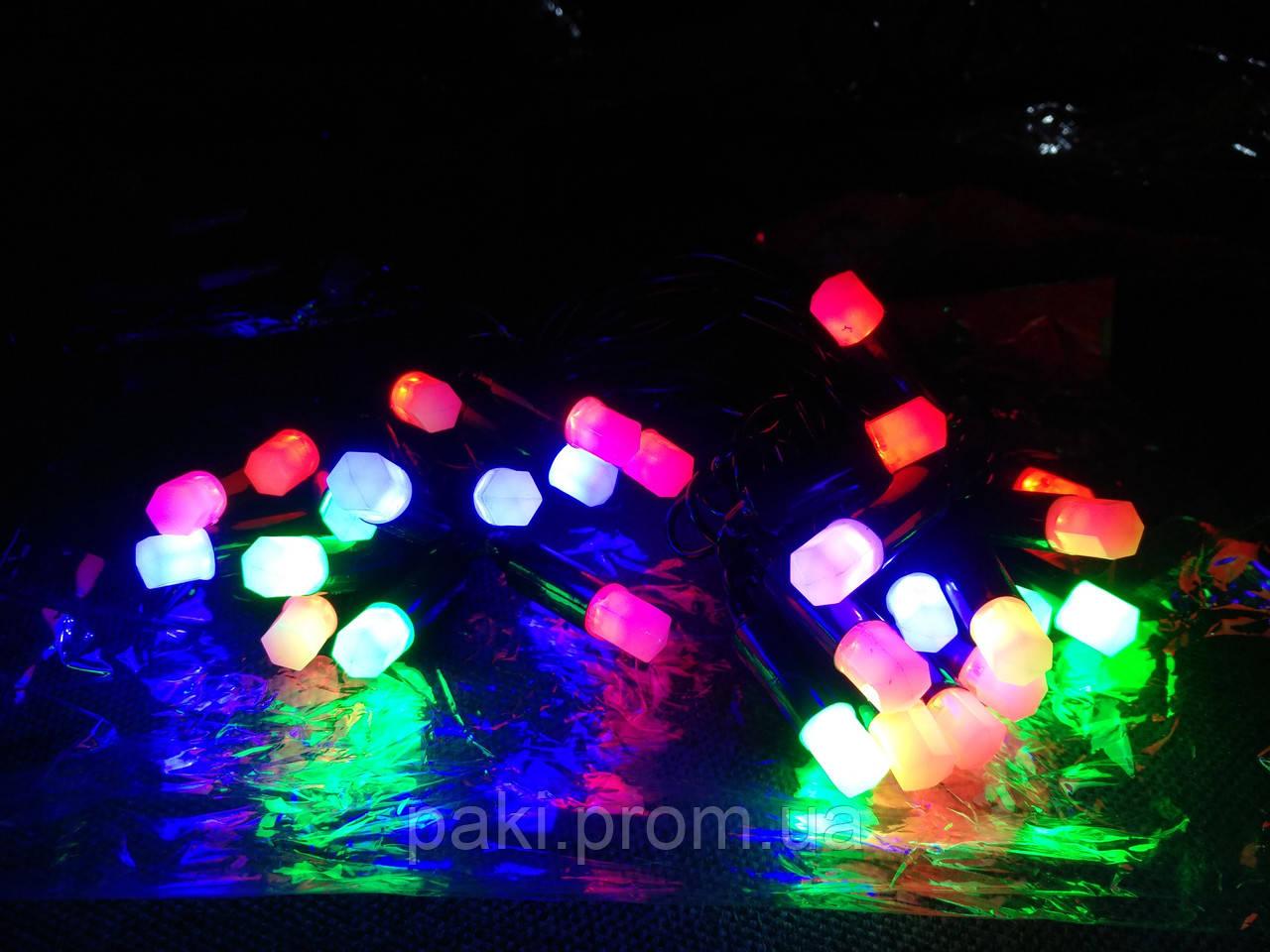 Гірлянда ліхтарики (фігура) 30 л. LED світлодіодна 4 м.