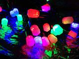 Гірлянда ліхтарики (фігура) 30 л. LED світлодіодна 4 м., фото 4
