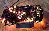 Гірлянда Xmas Lights 100 л, зелений провід (8 режимів), фото 2