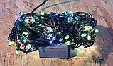 Гірлянда Xmas Lights 100 л, зелений провід (8 режимів), фото 5