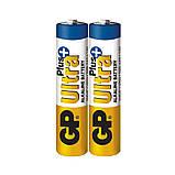 Батарейка GP 24AUP-S2 Ultra Plus alkaline LR03 ААА, фото 2
