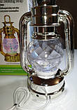 Диско лампа Фонарь LED светодиодная, вращающаяся, фото 6