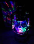 Диско лампа Фонарь LED светодиодная, вращающаяся, фото 10