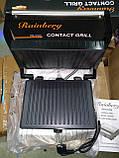 Электрический гриль Rainberg RB-5402 c терморегулятором (барбекю-электрогриль), фото 5