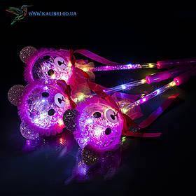 Світяться палички Ведмедики светяшки рожеві