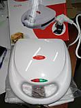 Бутербродница гриль (сэндвичница) WimpeX WX-1050, фото 2