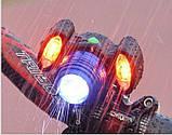 Велосипедный фонарь BL-31176+2COB, фото 9