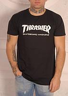 Черная футболка Thrasher, фото 1