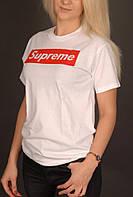 Белая футболка Supreme, фото 1