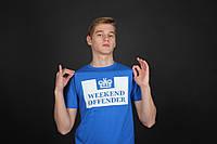 Cиняя футболка Weekend Offender, фото 1