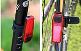 Вело стоп-задний фонарь ZH-1608, фото 4