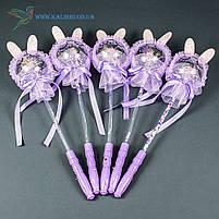 Светящиеся палочки Зайцы светяшки фиолетовые, фото 2