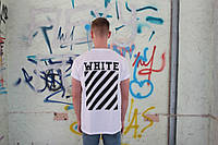 Белая футболка Off White, фото 1