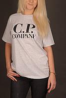 Светло-серая футболка С.P. Company, фото 1