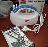 Миксер ручной ROTEX RHM175-K (5 скоростей, 2 насадки, турбо) 175W, фото 3