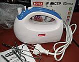 Миксер ручной ROTEX RHM175-K (5 скоростей, 2 насадки, турбо) 175W, фото 4